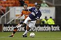 23/02/2008    Copyright Pic: James Stewart.File Name : sct_jspa19_dundeee_utd_v_falkirk.RUSSELL LATAPY GETS AWAY FROM MARK KERR.James Stewart Photo Agency 19 Carronlea Drive, Falkirk. FK2 8DN      Vat Reg No. 607 6932 25.Studio      : +44 (0)1324 611191 .Mobile      : +44 (0)7721 416997.E-mail  :  jim@jspa.co.uk.If you require further information then contact Jim Stewart on any of the numbers above........