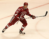 Wiley Sherman (Harvard - 25) - The University of Minnesota Duluth Bulldogs defeated the Harvard University Crimson 2-1 in their Frozen Four semi-final on April 6, 2017, at the United Center in Chicago, Illinois.