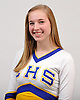 Brittany Dein of Comsewogue poses for a portrait during the Newsday All-Long Island cheerleading photo shoot at company headquarters on Tuesday, Mar. 15, 2016.