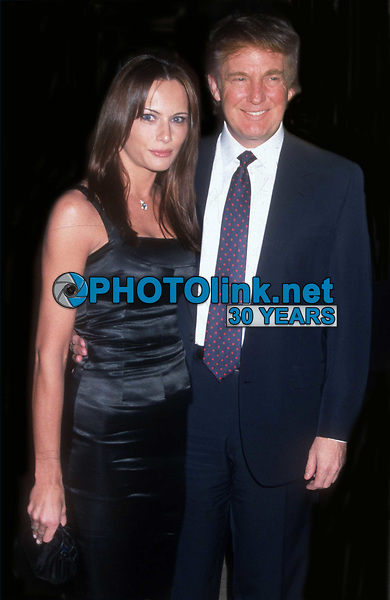 Melania Trump and Donald Trump Undated<br /> Photo By John Barrett/PHOTOlink