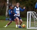 26.10.18 Rangers training: Serge Atakayi and Ross McCrorie