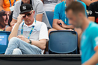 Boris Becker watches Philipp Kohlschreiber during his match at the Tennis  Australian Open 2019, Melbourne, Australia - 17 Jan 2019. Credit: Action Press/MediaPunch ***FOR USA ONLY***