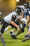 Lawndale, CA 10/18/13 - Jake Rathbun (Peninsula #51) in action during the Peninsula vs Leuzinger Varsity football game at Leuzinger High School.