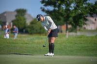 Jimin Kang (USA) watches her putt on 12 during round 2 of  the Volunteers of America LPGA Texas Classic, at the Old American Golf Club in The Colony, Texas, USA. 5/6/2018.<br /> Picture: Golffile | Ken Murray<br /> <br /> <br /> All photo usage must carry mandatory copyright credit (&copy; Golffile | Ken Murray)