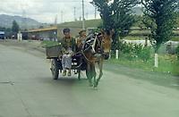 Province du Shanxi, vers Datong, juillet 2000.
