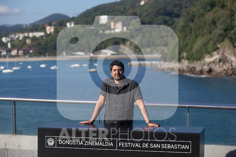 Spanish movie director Cesc Gay poses during the `Truman´ film presentation a 63rd Donostia Zinemaldia (San Sebastian International Film Festival) in San Sebastian, Spain. September 19, 2015. (ALTERPHOTOS/Victor Blanco)