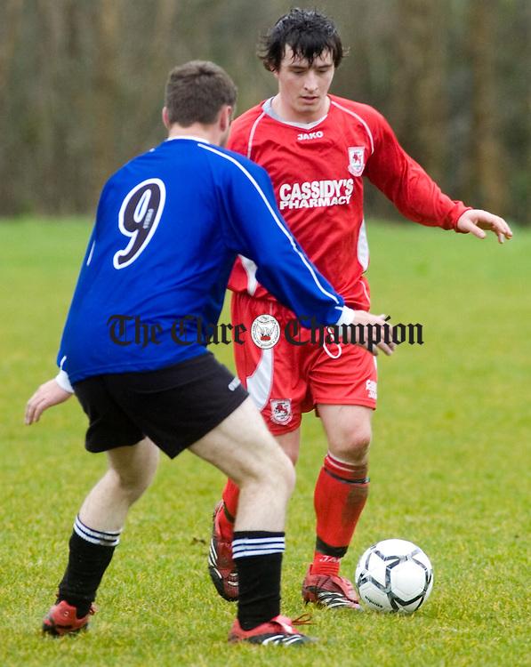 Soccer Lifford v Inch at Lees Road.
