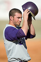 James Madison right fielder Kellen Kulbacki (21) in game action versus Charlotte at Fieldcrest Cannon Stadium in Kannapolis, NC, Friday, March 2, 2007.  The Charlotte 49'ers defeated the James Madison Dukes 16-7.