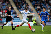 Matty Kennedy of Portsmouth in action during Gillingham vs Portsmouth, Sky Bet EFL League 1 Football at the MEMS Priestfield Stadium on 8th October 2017
