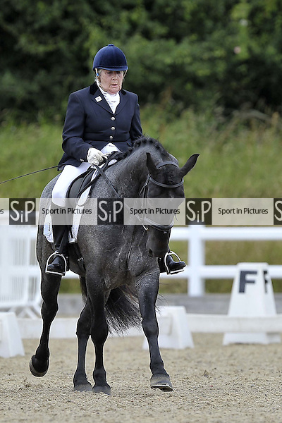 Class 1. British Dressage (BD). Brook Farm Training Centre. Essex. 01/07/2016. MANDATORY CreditGarry Bowdeni/Sportinpictures - NO UNAUTHORISED USE - 07837 394578