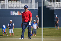 Bud Cauley (USA) looks over the green on 18 during round 4 of the 2019 Houston Open, Golf Club of Houston, Houston, Texas, USA. 10/13/2019.<br /> Picture Ken Murray / Golffile.ie<br /> <br /> All photo usage must carry mandatory copyright credit (© Golffile | Ken Murray)