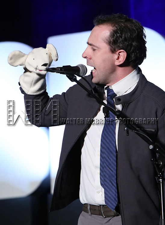 """Rob McCure from """"Mrs Doubtfire"""" during the BroadwayCON 2020 First Look at the New York Hilton Midtown Hotel on January 24, 2020 in New York City."""