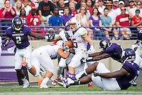 September 5, 2015, Evanston, IL:  Stanford Cardinal vs Northwestern Wildcats at Ryan Field.  Northwestern defeated Stanford 16-6.