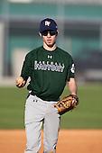 December 28, 2009:  Alex Lenardos (1) of the Baseball Factory Hurricanes team during the Pirate City Baseball Camp & Tournament at Pirate City in Bradenton, Florida.  (Copyright Mike Janes Photography)