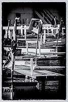 Henley on Thames, Henley. UK. Umpires Launches&rsquo;,  moored<br /> Henley Royal Regatta 2000<br /> <br /> [Mandatory Credit Peter Spurrier/ Intersport Images]