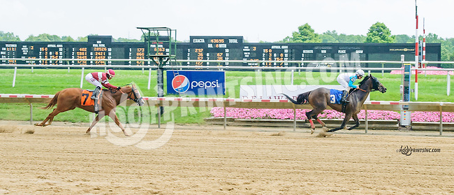 Inflation Target winning at Delaware Park on 7/7/15
