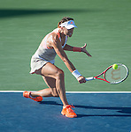 Andrea Petkovic (GER) loses to Magdalena Rybarikova (SVK) 6-4, 7-6(2) in the finals at the CitiOpen in Washington, D.C., Washington, D.C.  District of Columbia on August 4, 2013.