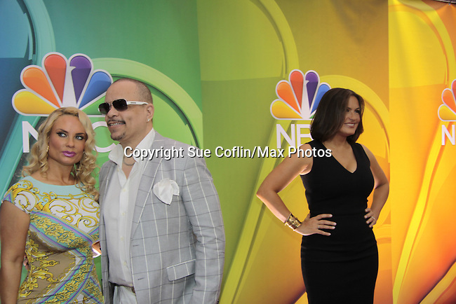 - NBC Upfront - Ice T & Coco - Law & Order SVU at Radio City, New York City, New York on May 11, 2015 (Photos by Sue Coflin/Max Photos)