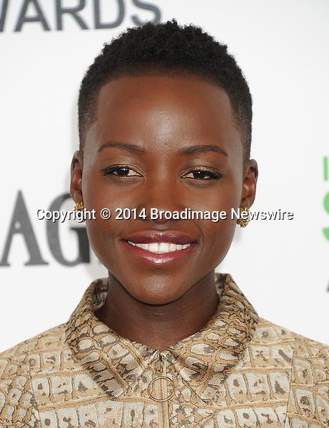 LPictured: Lupita Nyong'o<br /> Mandatory Credit &copy; Gilbert Flores/Broadimage<br /> 2014 Independent Spirit Awards<br /> <br /> 3/1/14, Santa Monica, California, United States of America<br /> <br /> Broadimage Newswire<br /> Los Angeles 1+  (310) 301-1027<br /> New York      1+  (646) 827-9134<br /> sales@broadimage.com<br /> http://www.broadimage.com