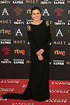 Marian Alvarez attends 30th Goya Awards red carpet in Madrid, Spain. February 06, 2016. (ALTERPHOTOS/Victor Blanco)
