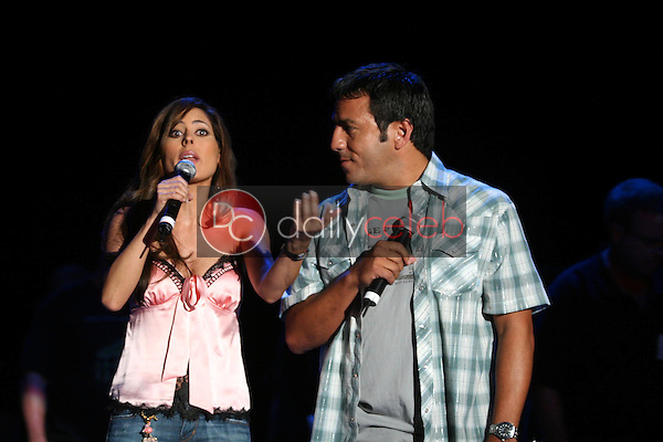 Kerri Kasem and Leo Quinones<br />