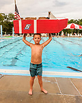 Indianola Park and Recreations hosted cardboard boat races at the Veteran's Memorial Aquatic Center July 22.
