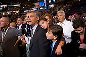 Denver, Colorado<br /> August 27, 2008<br /> <br /> Delegates at the Pepsi Center  - Democratic National Convention.