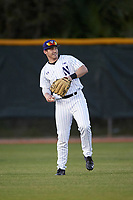 Northwestern Wildcats center fielder Jake Schieber (17) during a game against the Saint Leo Lions on March 4, 2016 at North Charlotte Regional Park in Port Charlotte, Florida.  Saint Leo defeated Northwestern 5-3.  (Mike Janes/Four Seam Images)