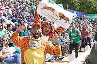 The Tiger roars - fans enjoy their day out at Sophia Gardens during England vs Bangladesh, ICC World Cup Cricket at Sophia Gardens Cardiff on 8th June 2019