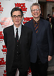 Roger Rees & Rick Elice.attending the Broadway Opening Night Performance of 'Nice Work If You Can Get it' at the Imperial Theatre on 4/24/2012 at the Imperial Theatre in New York City. © Walter McBride/WM Photography .