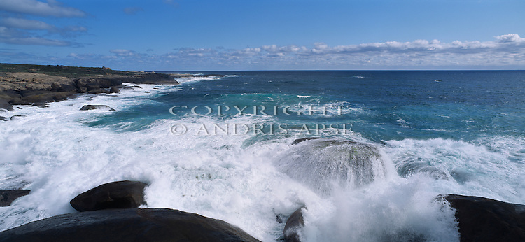 Coastline at William Bay National Park. Western Australia. Australia.