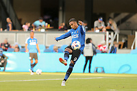 San Jose, CA - Saturday August 25, 2018: Danny Hoesen prior to a Major League Soccer (MLS) match between the San Jose Earthquakes and Vancouver Whitecaps FC at Avaya Stadium.