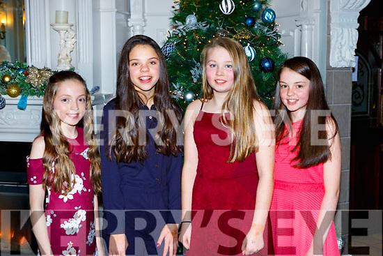 Norma Twomey, Rebecca Moynihan, Emma Herlihy, and Mave Byrne enjoying the Knocknagree Ladies GAA social in the Killarney Avenue Hotel on Saturday night