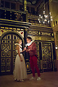London, UK. 25.10.2014. 'TIS PITY SHE'S A WHORE, by John Ford, opens at the Sam Wanamaker Playhouse, at Shakespeare's Globe. Picture shows: Fiona Button (Annabella) and Max Bennett (Giovanni). Photograph © Jane Hobson.