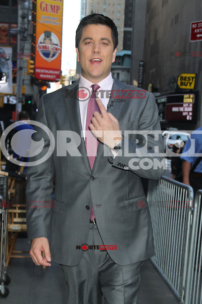 NEW YORK, NY - July 17, 2012: Josh Elliot at Good Morning America studios in New York City. © RW/MediaPunch Inc. *NORTEPHOTO*<br />