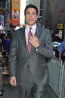 NEW YORK, NY - July 17, 2012: Josh Elliot at Good Morning America studios in New York City. &copy; RW/MediaPunch Inc. *NORTEPHOTO*<br /> **SOLO*VENTA*EN*MEXICO**<br /> **CREDITO*OBLIGATORIO** <br /> **No*Venta*A*Terceros**<br /> **No*Sale*So*third**<br /> *** No*Se*Permite Hacer Archivo**<br /> **No*Sale*So*third**