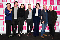 "Fiona Shaw, Hugh Skinner, Sian Clifford, Andrew Scott, Phoebe Waller Bridge, Harry Bradbeer and Bill Paterson<br /> at the ""Fleabag"" season 2 screening, at the BFI South Bank, London<br /> <br /> ©Ash Knotek  D3474  24/01/2019"