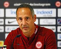 Der neue Trainer Adi Hütter (Eintracht Frankfurt) - 04.07.2018: Eintracht Frankfurt Pressekonferenz, Commerzbank Arena