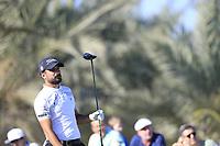 Francesco Laporta (ITA) on the 14th tee during the 3rd round of the Abu Dhabi HSBC Championship, Abu Dhabi Golf Club, Abu Dhabi,  United Arab Emirates. 18/01/2020<br /> Picture: Fran Caffrey | Golffile<br /> <br /> <br /> All photo usage must carry mandatory copyright credit (© Golffile | Fran Caffrey)