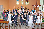 Children from Flemby NS and O'Bhreannain School at their First Holy Communion in the church of the Immaculate Conception Ballymac on Saturday