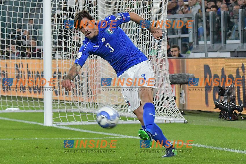 Alessio Romagnoli Italia esordio in nazionale <br /> Torino 06-10-2016 Juventus Stadium <br /> World Cup Qualifiers Italy - Spain / Italia - Spagna. Foto Andrea Staccioli / Insidefoto