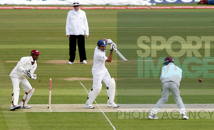 England Batsman Ravi Popara in action