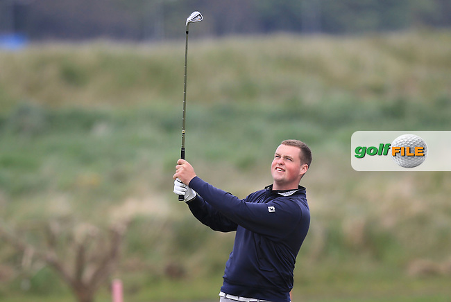 Gavin Fitzmaurice (Balcarrick) on the 13th during Round 1 of the Flogas Irish Amateur Open Championship at Royal Dublin on Thursday 5th May 2016.<br /> Picture:  Thos Caffrey / www.golffile.ie