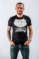 Wednesday 02 November 2016<br /> Pictured: Leon Britton<br /> Re: Swansea City Christmas Photo shoot, Liberty Stadium, Wales, UK