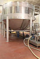 stainless steel tanks bodegas frutos villar , cigales spain castile and leon
