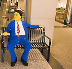 Shopping, The Lego Store, Westfield North Bridge Mall, Chicago, Illinois