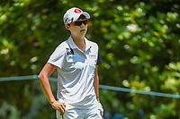 Hyo Joo Kim (KOR) looks over her tee shot on 3 during round 4 of the U.S. Women's Open Championship, Shoal Creek Country Club, at Birmingham, Alabama, USA. 6/3/2018.<br /> Picture: Golffile | Ken Murray<br /> <br /> All photo usage must carry mandatory copyright credit (&copy; Golffile | Ken Murray)