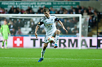 Thursday  03 October  2013  Pictured:Ben Davies of Swansea<br /> Re:UEFA Europa League, Swansea City FC vs FC St.Gallen,  at the Liberty Staduim Swansea