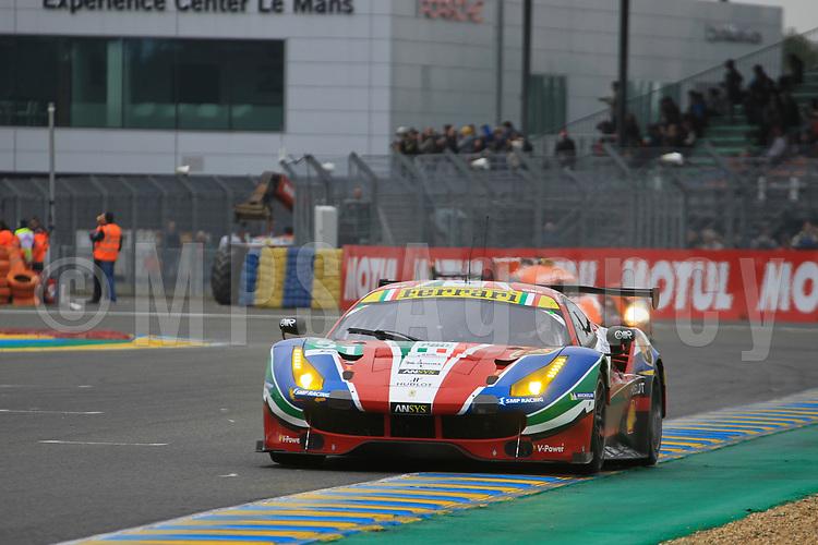 #51 AF CORSE (ITA) FERRARI 488 GTE LMGTE PRO GIANMARIA BRUNI (ITA) JAMES CALADO (GBR) ALESSANDRO PIER GUIDI (ITA)