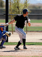 Cole Armstrong -  Chicago White Sox - 2009 spring training.Photo by:  Bill Mitchell/Four Seam Images